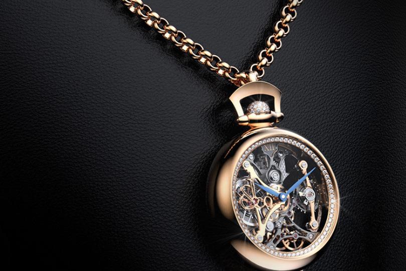 Brilliant Pocket Watch Pendant, Jacob &Co.