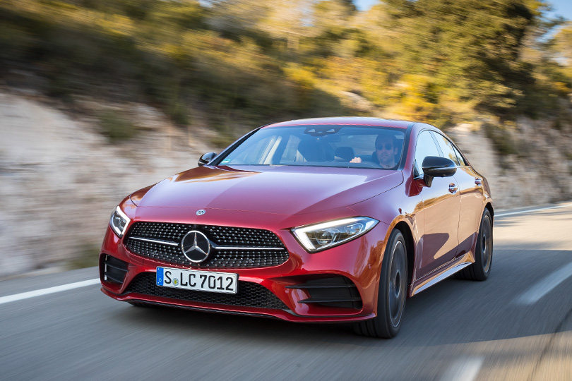 Cars with Jan Coomans. The all new Mercedes CLS 450