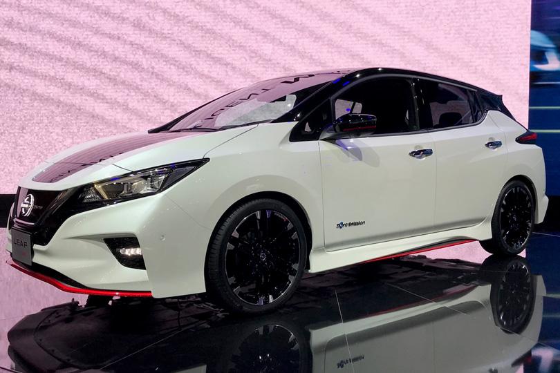 Авто сЯном Коомансом. Токийский автосалон: самые свежие новости сродины Годзиллы. Nissan Leaf Nismo