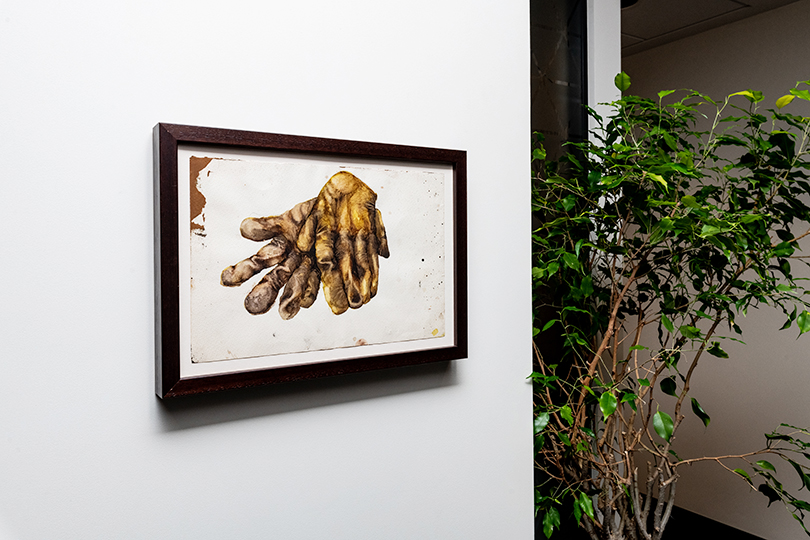 Работа Артема Филатова (Без названия, 2014 г.), коллекция Credit Suisse