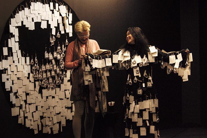 Art Weekend в Москве: погружение в виртуальную реальность. Чуя Чиа. Перформанс «Какое твое время», Буэнос Айрес, 2014г.