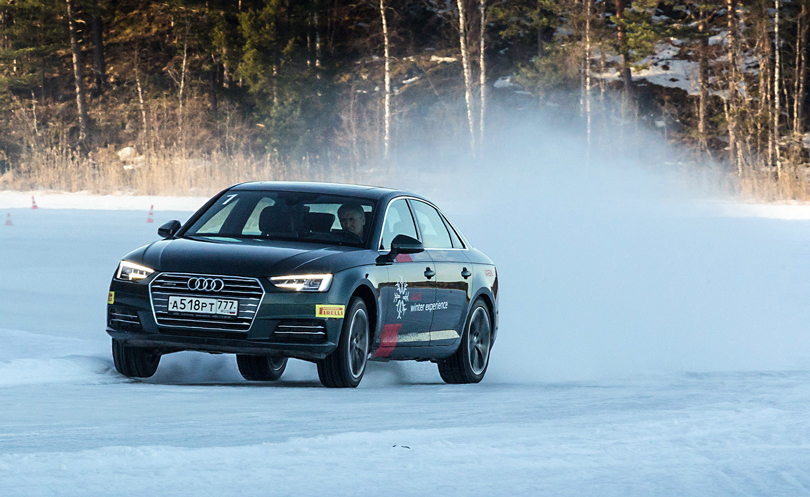 Cars with Jan Coomans. Audi Winter experience: taming a frozen lake with the Audi Q7