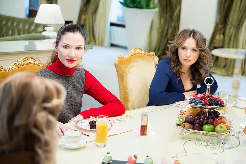 Ольга Комракова и Катя Добрякова