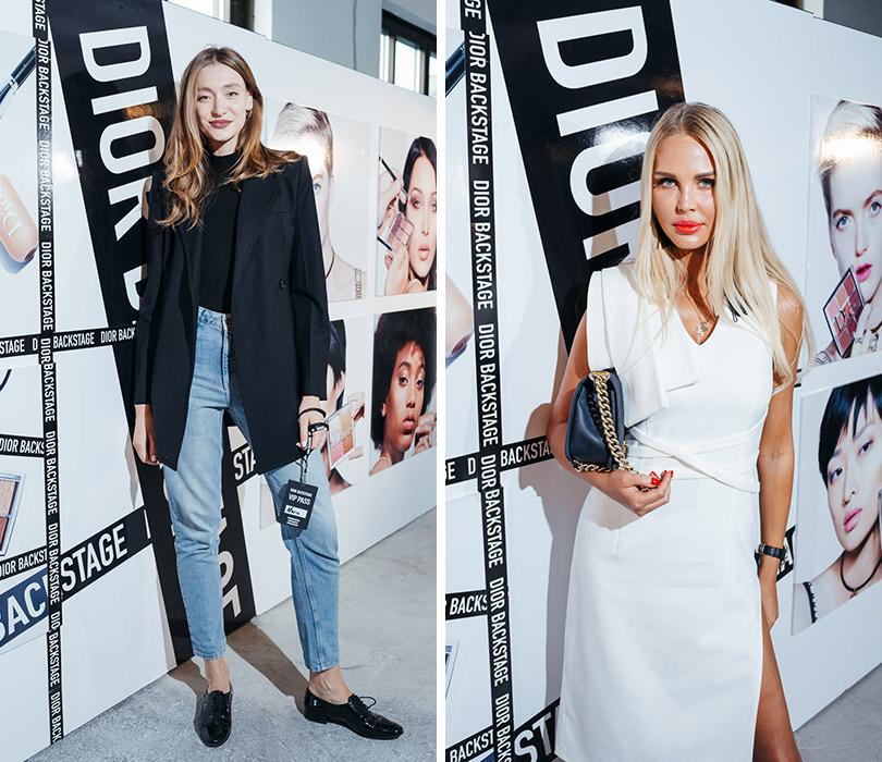 Презентация коллекции профессионального макияжа Dior Backstage Line. Мария Миногарова. Мария Погребняк