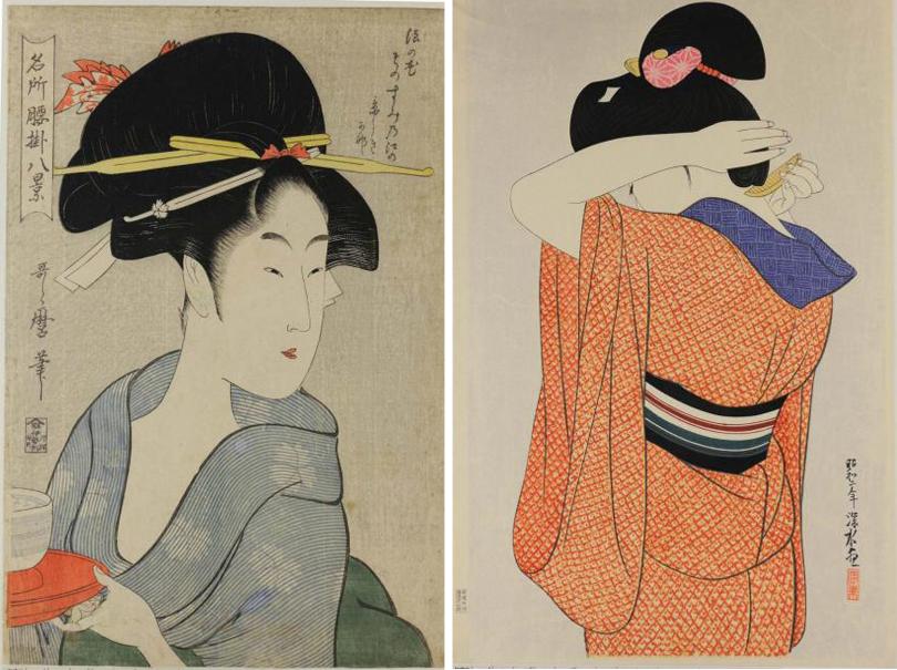 Art Weekend в мире: лучшие выставки и арт-события октября от Парижа до Сингапура. Китагава Утамаро. Ито Синсуй