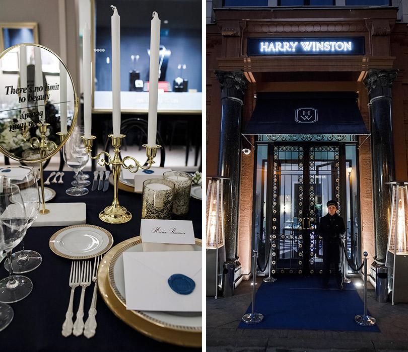 Торжественный ужин Harry Winston вчесть премьеры коллекции Secrets