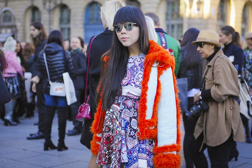 Style Notes: показ Louis Vuitton на Неделе моды в Париже. Сьюзи Лау