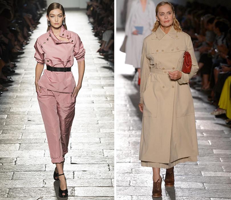 Style Notes: итоги и лучшие моменты Недели моды в Милане. Джиджи Хадид. Лорен Хаттон
