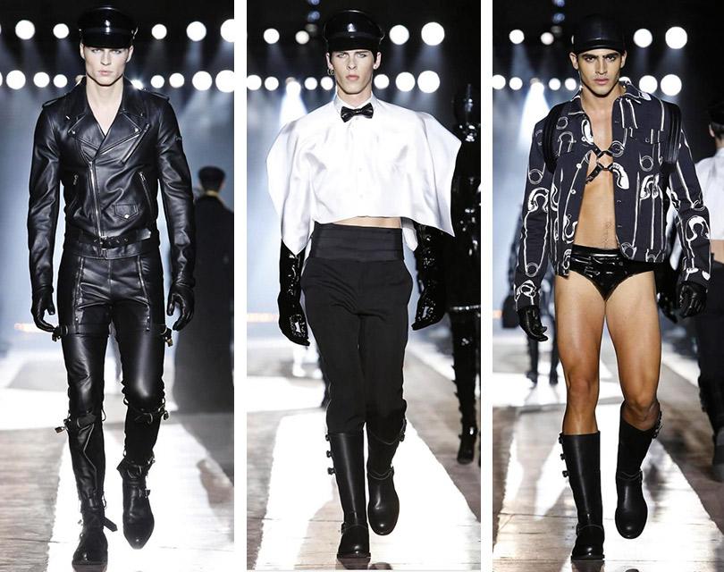 Все самое интересное снедель мужской моды: Moschino