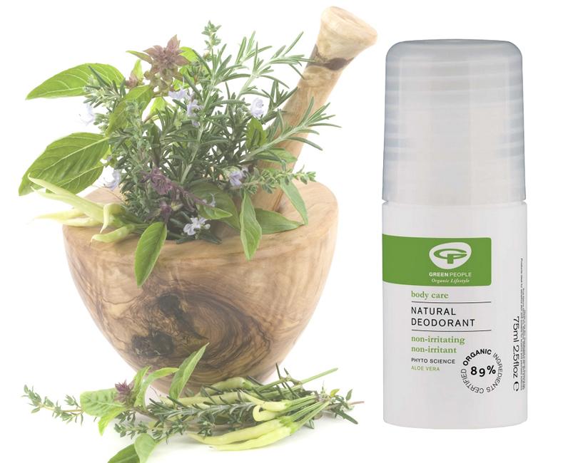 Total Beauty: красавицы не потеют? Натуральные дезодоранты и другие методы борьбы с потоотделением. Green People Natural Aloe Vera Deodorant