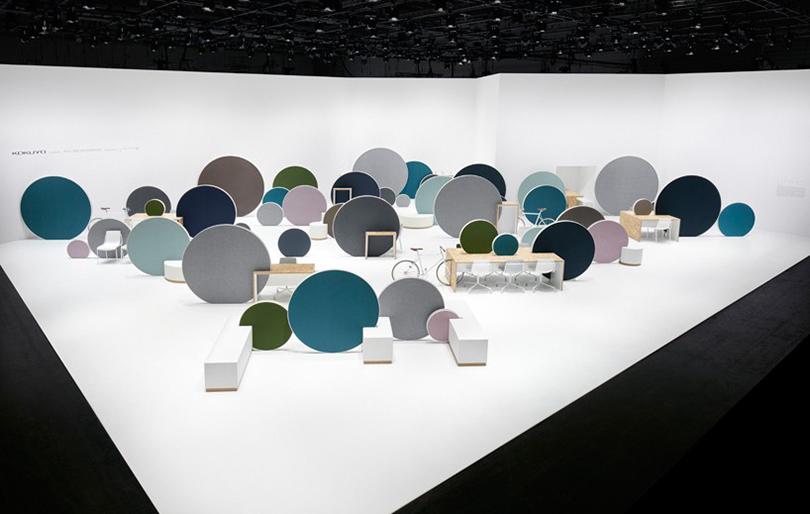 Дизайн &Декор: дизайнерский офис сOrgatec. Еще один способ сегментировать пространство— новинки отдизайнерского бюро Nendo, созданные для японской компании Kokuyo