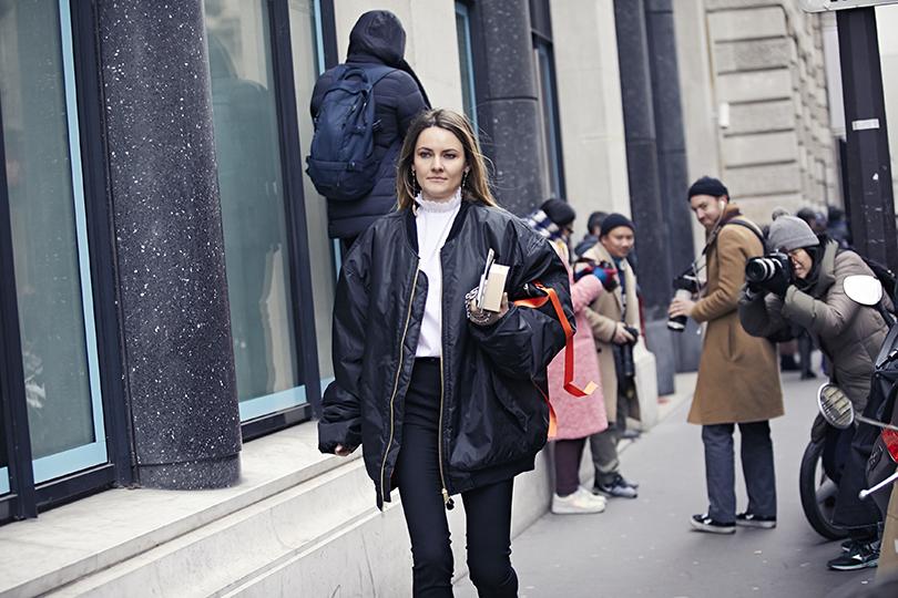 Street Style: эксклюзивные фотографии стретьего дня Недели Haute Couture вПариже вобъективе ИноКо. Екатерина Мухина