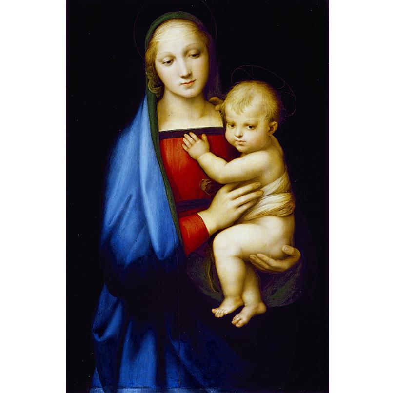 Art & More: по следам Рафаэля. Выставка великого итальянца в Пушкинском музее. «Мадонна Грандука», Галереи Уффици, Флоренция