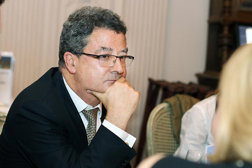 Вресторане Butler прошел бизнес-ужин Posta-Magazine, посвященный Санкт-Моритцу. Новый посол Швейцарии вРоссии ИвРоссье