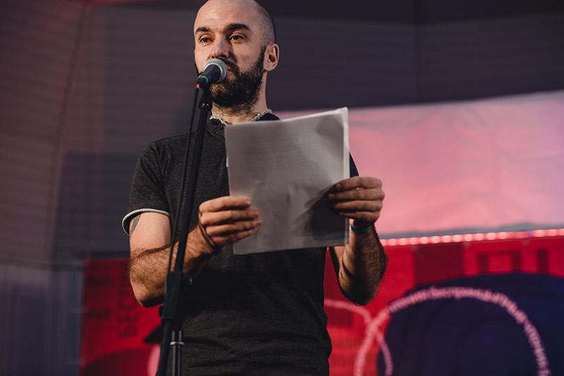 Летний фестиваль «БеспринцЫпные чтения». Александр Снегирев