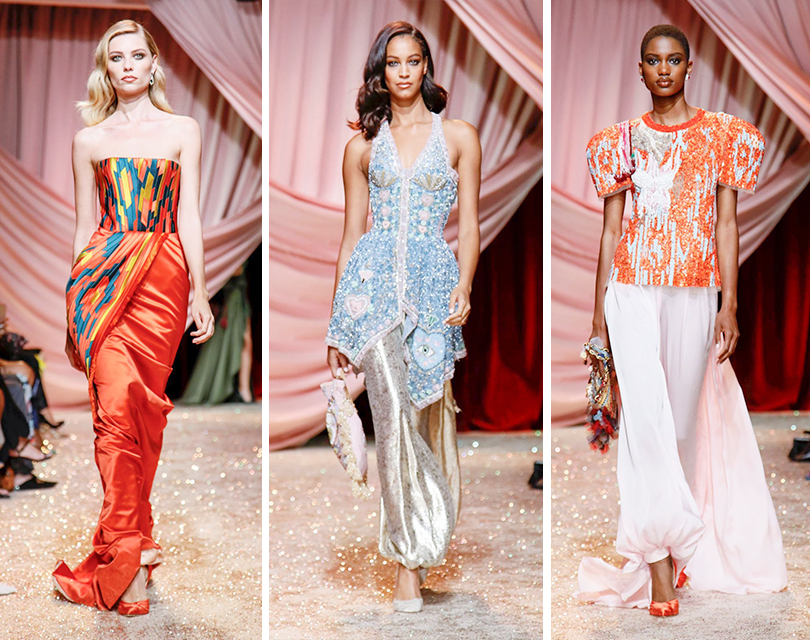 «Путешествие в Самарканд»: показ Ulyana Sergeenko на Неделе высокой моды в Париже