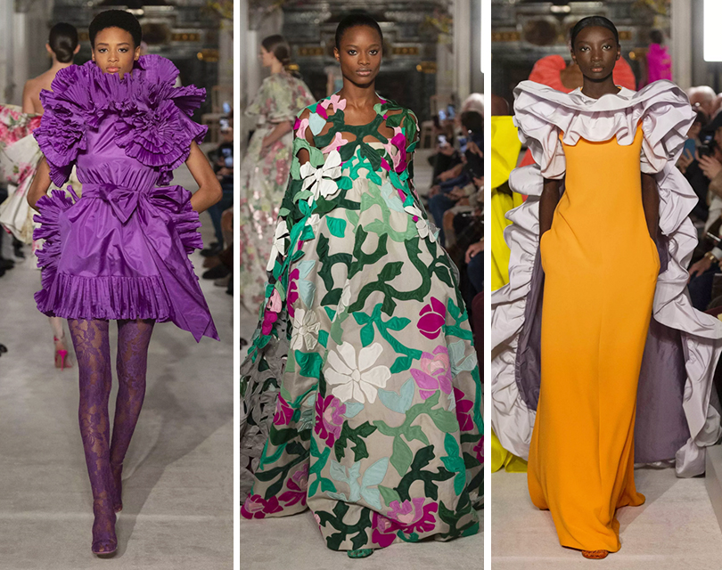 Бескомпромиссный цвет, триумф многообразия и «волшебство без усилий»: шоу Valentino Couture закрыло Неделю высокой моды в Париже