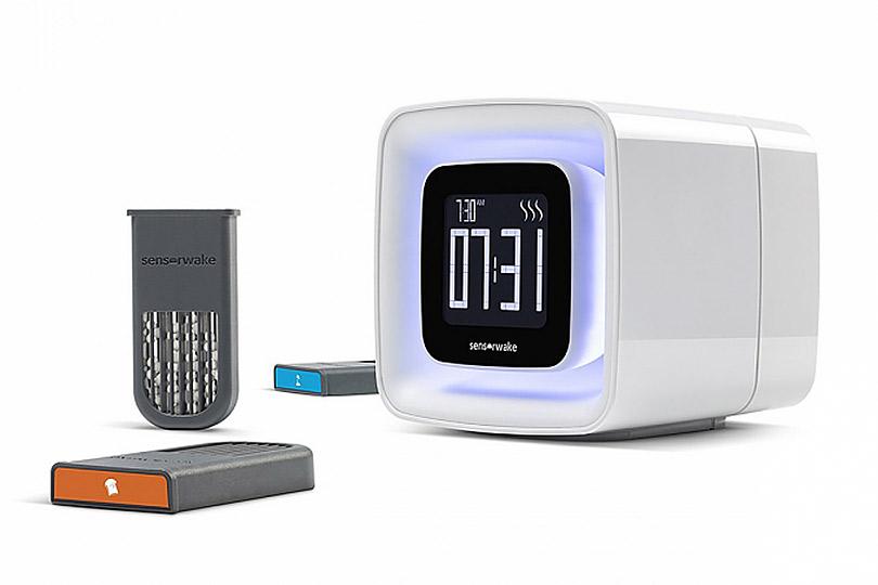 Идея высокотехнологичного подарка. «Ароматный» будильник SensorWake Olfactory Alarmclock