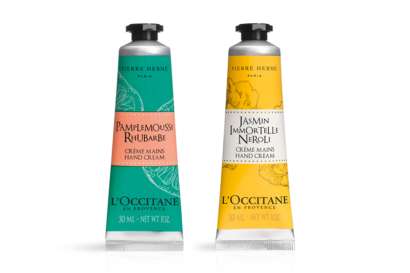 Grapefruit Rhubarb и Jasmin Immortelle Neroli Hand Cream, L'Occitane