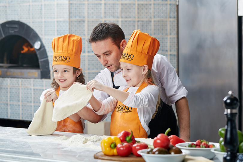 Пища для ума: чем занять детей вмосковских ресторанах. IlForno