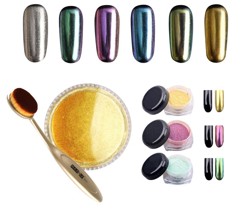 Уроки красоты сЕвгенией Ленц: «голливудские» ногти— новый тренд. Зеркальный маникюр
