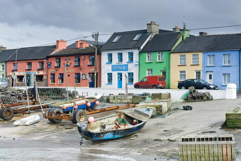 Планы налето: живописные города Европы, которые можно обойти пешком. Портмаги, Ирландия