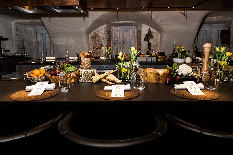 Торжественный ужин SHA вChef's Table byGrand Cuisine вчесть десятилетия бренда