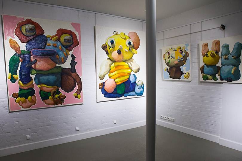 Открытие выставки Питера Опхайма вAskeri Gallery