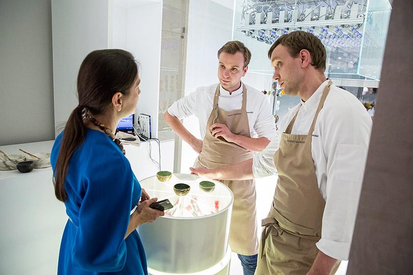 Хороший вкус сЕкатериной Пугачевой: новый Twins Garden братьев Березуцких— всотне лучших ресторанов мира