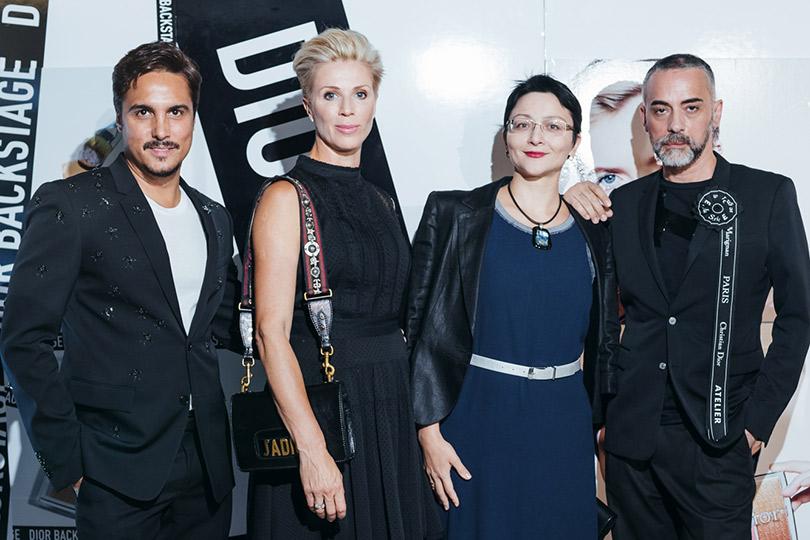 Презентация коллекции профессионального макияжа Dior Backstage Line. Джуниор Седеньо и Давиде Фрицци