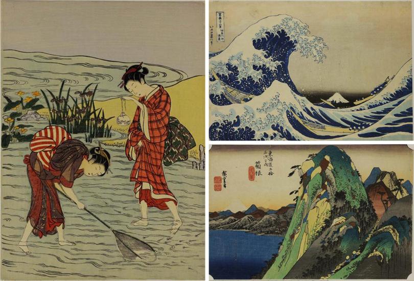 Art Weekend в мире: лучшие выставки и арт-события октября от Парижа до Сингапура. Судзуки Харунобу. Кацусика Хокусай, Утагава Куниёси
