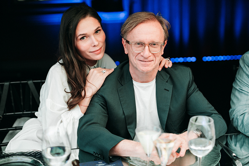 Полина Аскери и Борис Белоцерковский