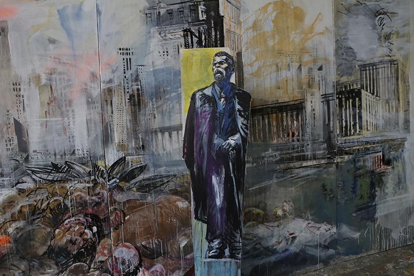 Валерий Кошляков. Проект «Элизии». Фрагмент инсталляции