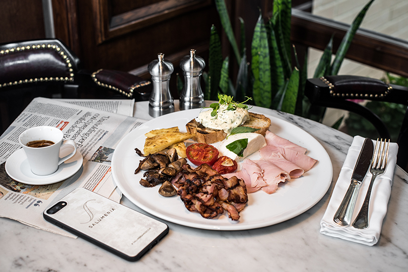 Сутра пораньше: топ-5 новых завтраков вМоскве. Salumeria. Плато Салюмерия