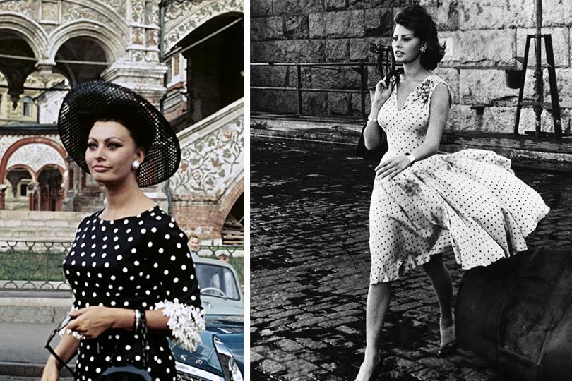 Полька-дот вмассовой культуре ивысокой моде
