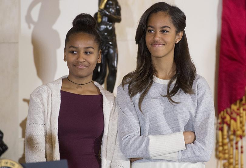 Posta Kid's Club: 30самых влиятельных подростков мира поверсии Time. Дочери президента США Обамы — 15-летняя Саша и 18-летняя Малиа