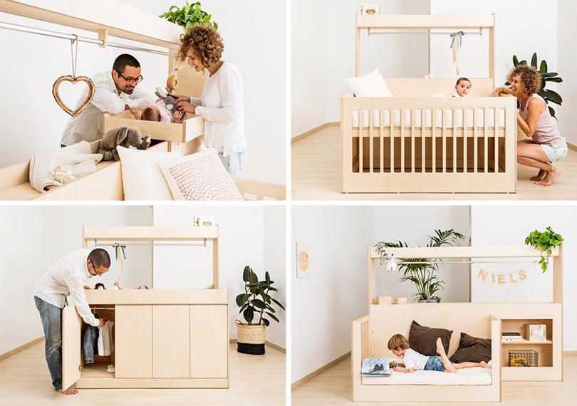 Дизайн & Декор: на вырост. Тренд на детскую мебель-трансформер. Голландский бренд Teehee