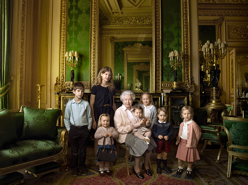 Психология успеха: Энни Лейбовиц. Как стать знаменитым фотографом. Елизавета II с внуками