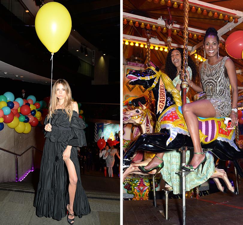 Добрые дела: невероятная ярмарка Карли Клосс иНатальи Водяновой вЛондоне. Эрика Пелосини (слева)