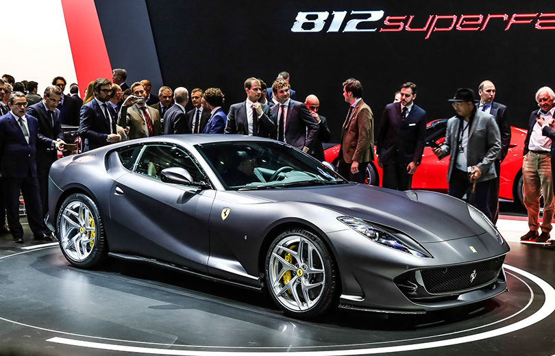 Cars with Jan Coomans: new at the 2017 Geneva Motor Show. Ferrari 812 Superfast