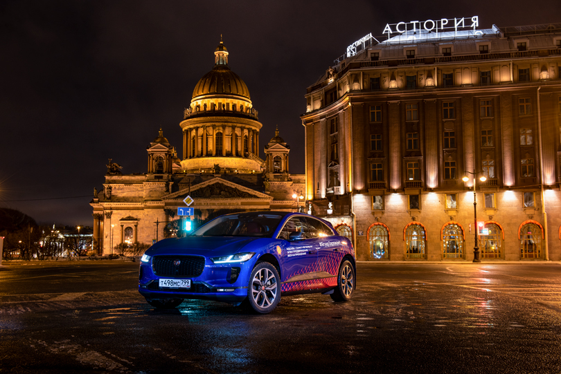 Cars with Jan Coomans. Electrified road trip — driving Jaguar's all electric I-Pace from Moscow to St. Petersburg