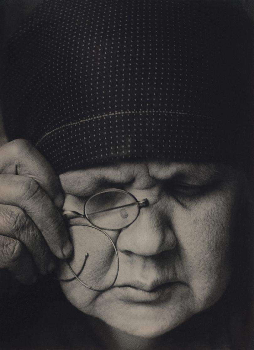 Александр Родченко. Портрет матери фотографа, 1924 г.