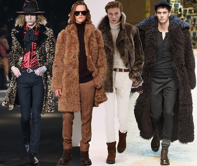 Men inStyle: утепляемся совкусом. Какую верхнюю одежду носить вноябре? Saint Laurent, Ralph Lauren, Michael Kors Collection, Dolce &Gabbana, осень-зима 2016/17
