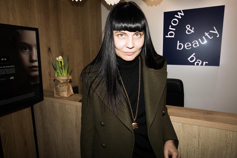 Светская хроника: открытие Brow &Beauty Bar наПатриарших прудах. Лидия Александрова