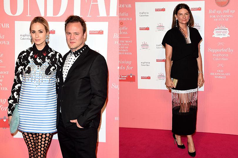 Fabulous Fund Fair в Лондоне: Дизайнер обуви Николас Кирквуд, cоздательница и бывшая владелица сайта Net-A-Porter Натали Массене