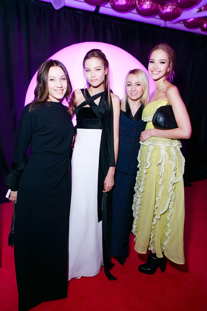 Fabulous Fund Fair в Лондоне: Владелица EDEM Couture Алена Демина, Леся Кафельникова, Яна Рудковская и модель Саша Лусс