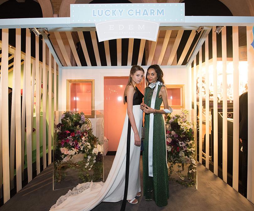 Fabulous Fund Fair в Лондоне: Посланница стиля и красоты EDEM Couture Леся Кафельникова (слева)