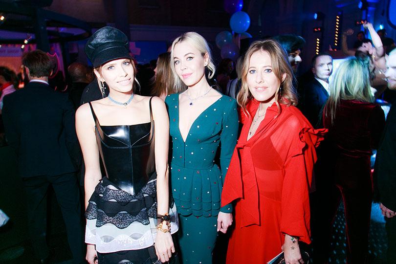 Fabulous Fund Fair в Лондоне: Елена Перминова, Ульяна Сергеенко и Ксения Собчак