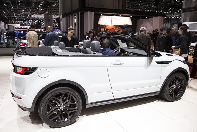 Range Rover Evoque с откидным верхом