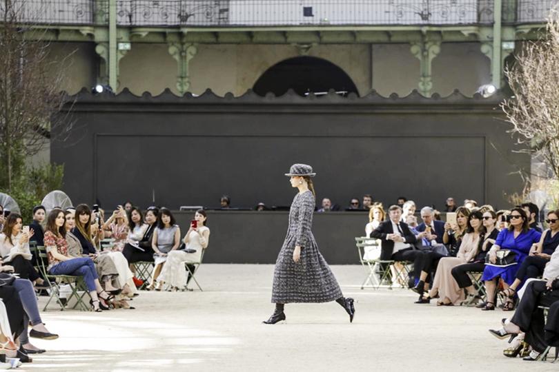 Ода Парижу и1980-м вкутюрной коллекции Chanel
